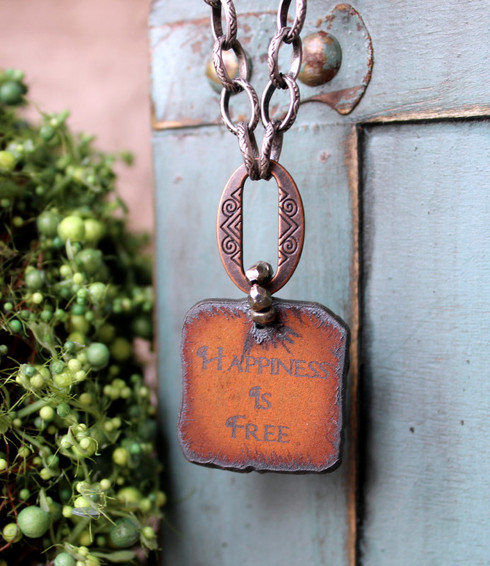 Happiness Is Free Necklace