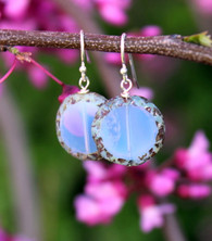 Raindrop Earrings - Lavender