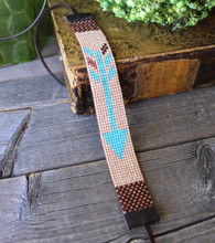 Handwoven Beaded Bracelet - Arrow