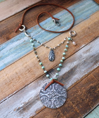 Zen Necklace Bohemian Jewelry