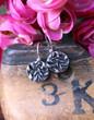 Stamped Drop Earrings