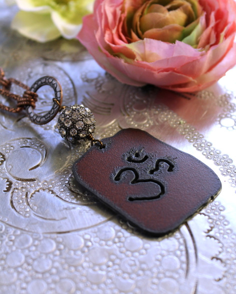 OM Bohemian Yoga Necklace