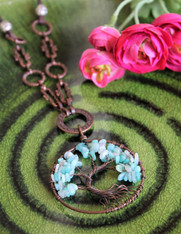 Tree of Life Bohemian Necklace