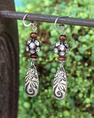 Rhinestone Boho Chic Earrings