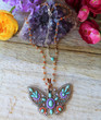Whimsical Butterfly Necklace