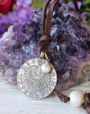 Austrian Coin Necklace