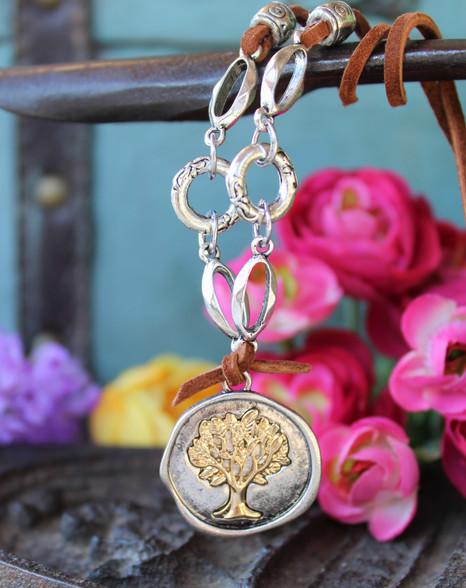 Tree of Life Boho Chic Necklace