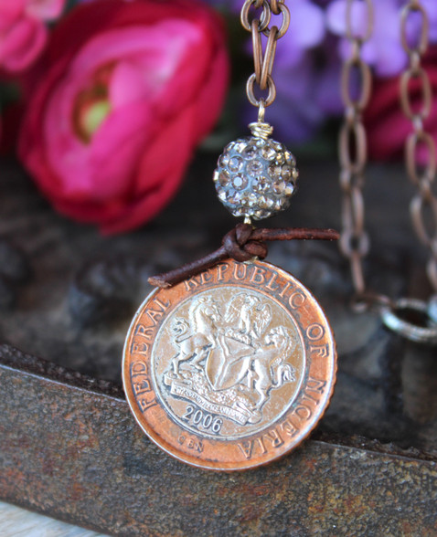 Nigerian Coin Necklace