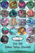 Sari Silk Ribbon Bracelet Colors