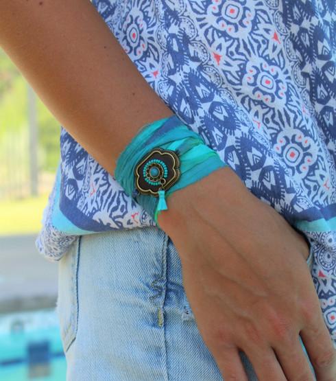 Chimalis Ribbon Wrap Bracelet