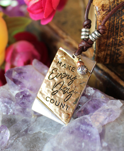 Make Every Day Count Necklace