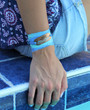 Just Breathe Sari Silk Ribbon Wrap Bracelet