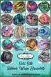 Just Breathe Sari Silk Ribbon Wrap Bracelet