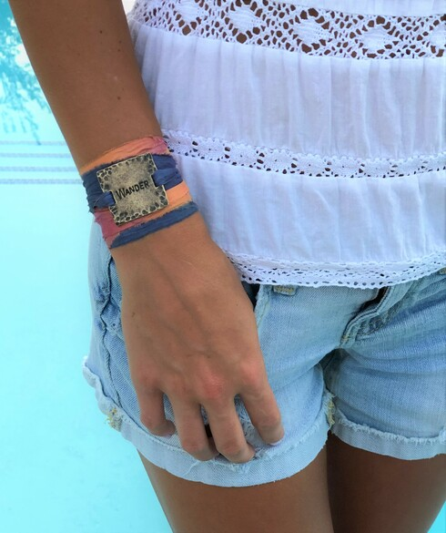 Wander Ribbon Wrap Bracelet