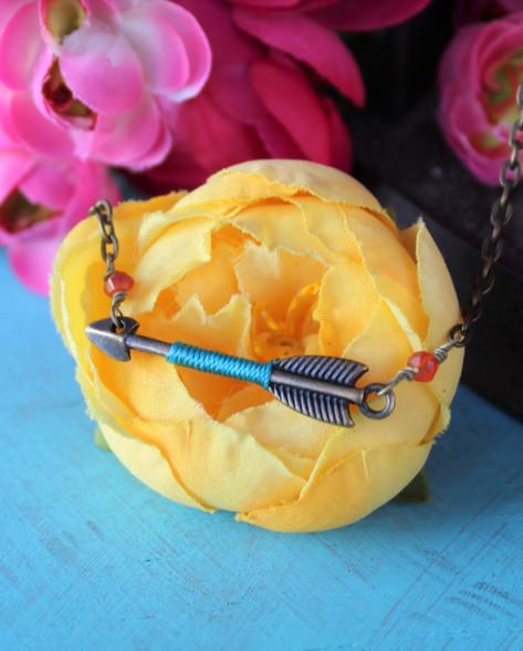 Tiny Arrow Boho Necklace