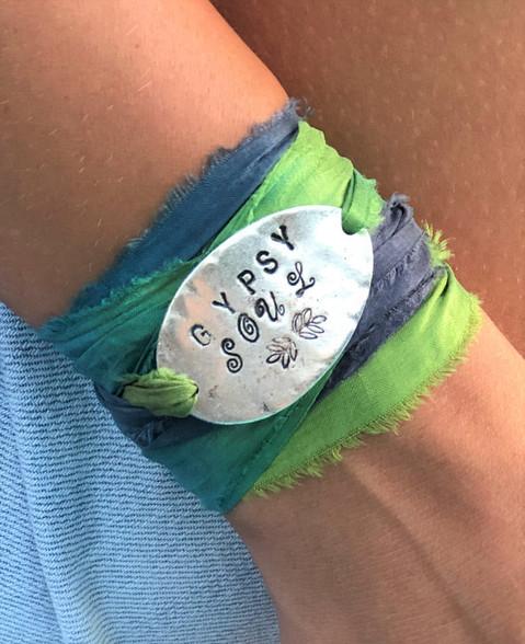Gypsy Soul Ribbon Wrap Bracelet