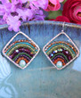 Deluxe Boho Earrings - Rainbow