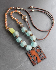 Love Sparkles Boho Necklace