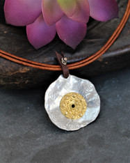 Mixed Metal Boho Chic Necklace