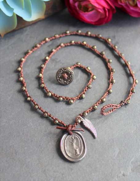 Guided By Angels Necklace