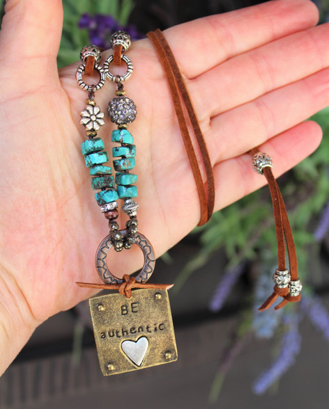 Be Authentic Necklace
