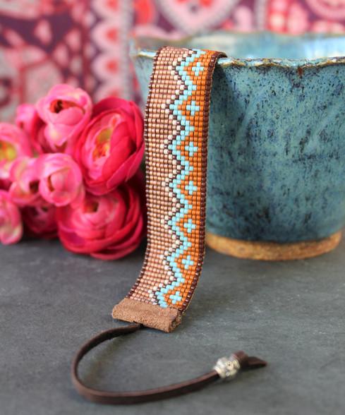 Hand Loomed Bracelet - Arizona