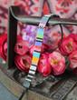 Multicolored Hand Loomed Beaded Bracelet