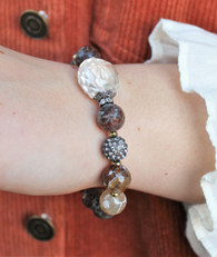 Luxe Stretch Bracelet - Ice