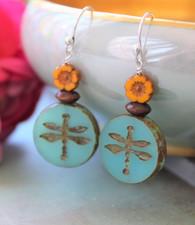 Dragonfly Bohemian Earrings