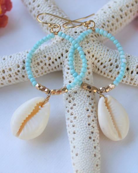 Byron Bay Seashell Earrings