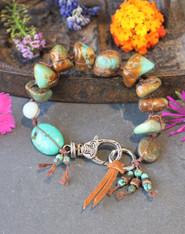 Gypsy Girl Turquoise Bracelet