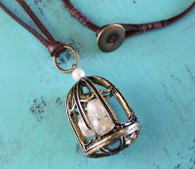 Birdcage Long Bohemian Necklace