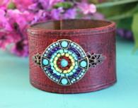 Cowgirl Leather Cuff