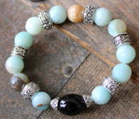 Amazonite Luxury Stretch Bracelet