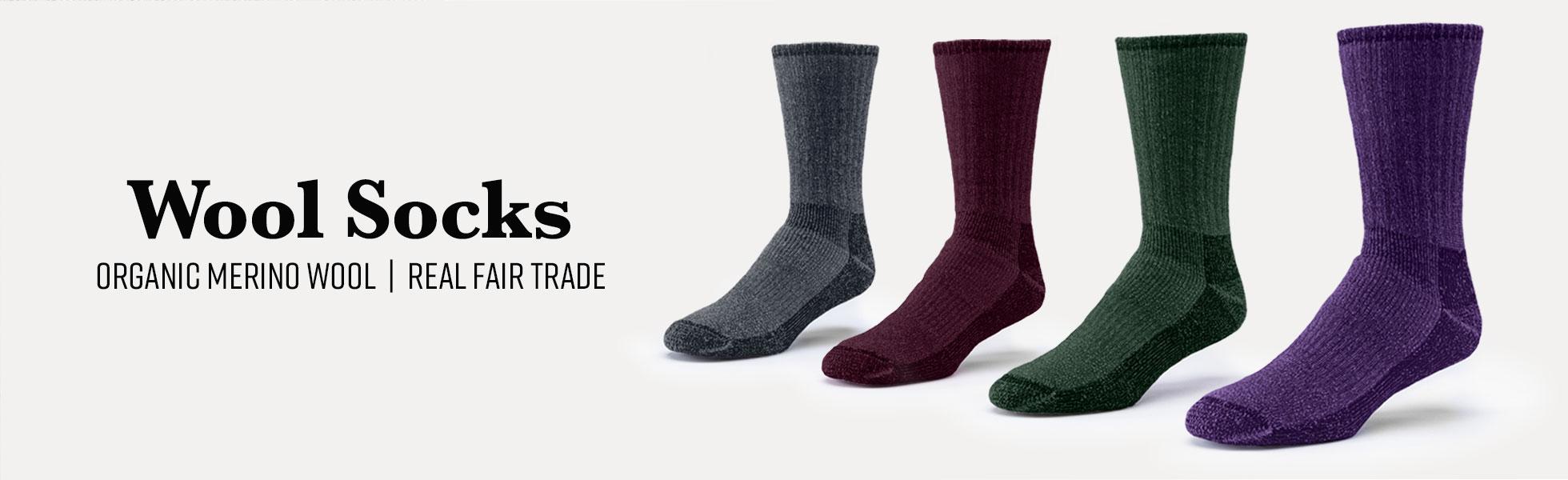 Organic Cotton Merino Wool Socks