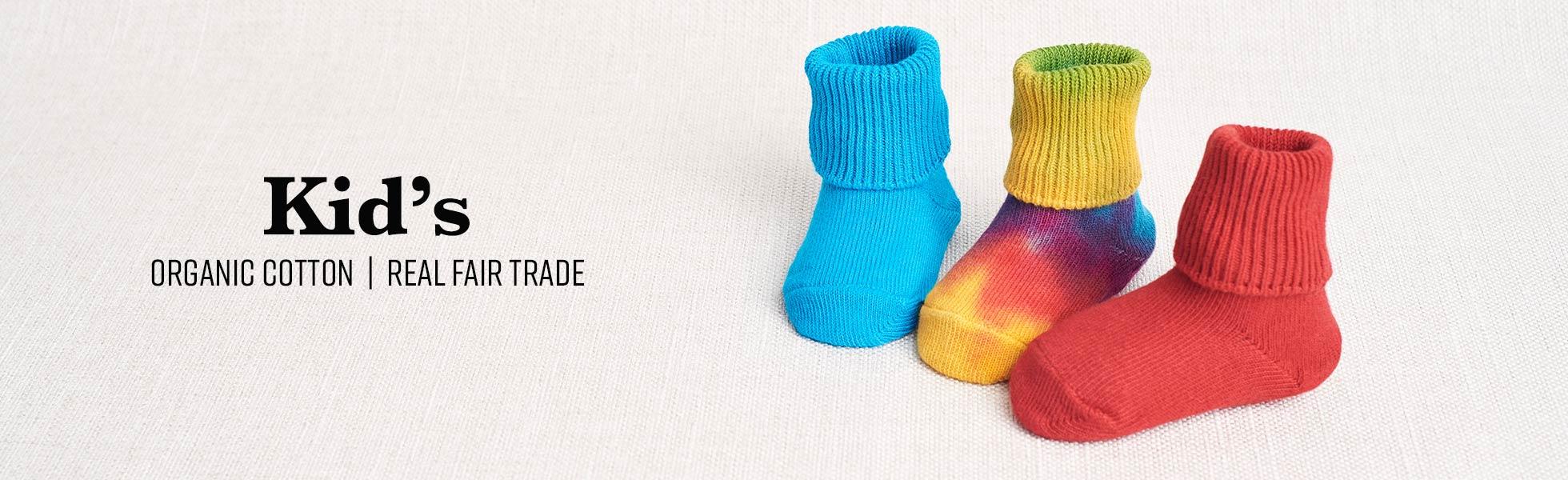 Organic Cotton Baby Socks