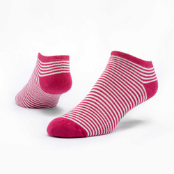 Organic Cotton Footie Socks - Stripe
