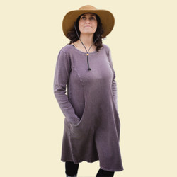 Organic Cotton Rib Dress