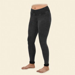 Organic Cotton Reversible Rib Leggings