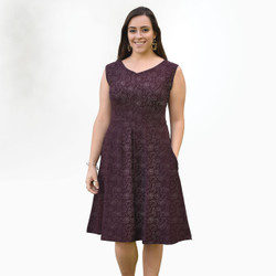 Organic Cotton Box Pleat Dress