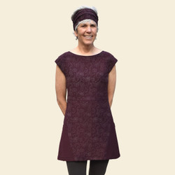 Organic Cotton Sleeveless Tunic - Print