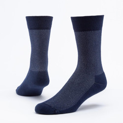 Organic Cotton Cushion Dress Socks