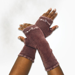 Organic Cotton Flourish Arm Warmers