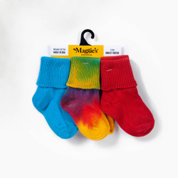 Organic Cotton Baby Sock - Color Anklet 3-Pak