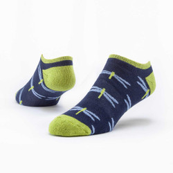 Organic Cotton Footie Socks - Biodiversity