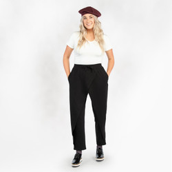 Organic Cotton Crossover Pants