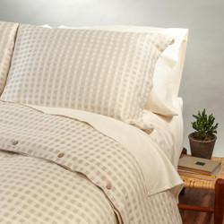 Organic Cotton/Linen Pillow Sham Set