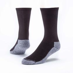 Organic Cotton Sport Socks - Crew - 6 Pak
