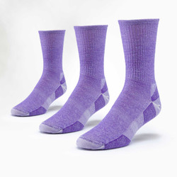 Organic Wool Urban Hiker Socks - Crew - 3 Pak