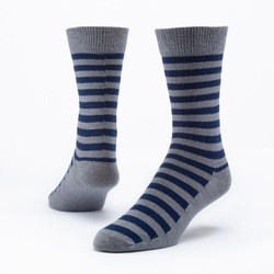Organic Wool Dress Crew Socks - 3 Pak